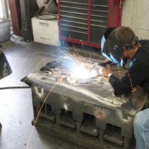 Tool & die engineering welder