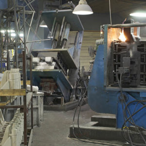 Permanent mold casting machines