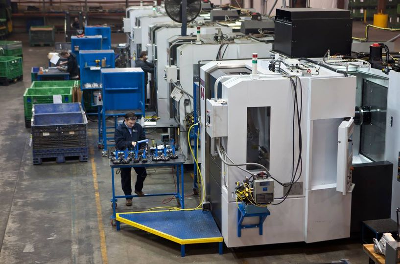 CNC Machining at Le Claire Manufacturing in Iowa